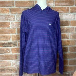 Vineyard Vines Blue Striped Shirt